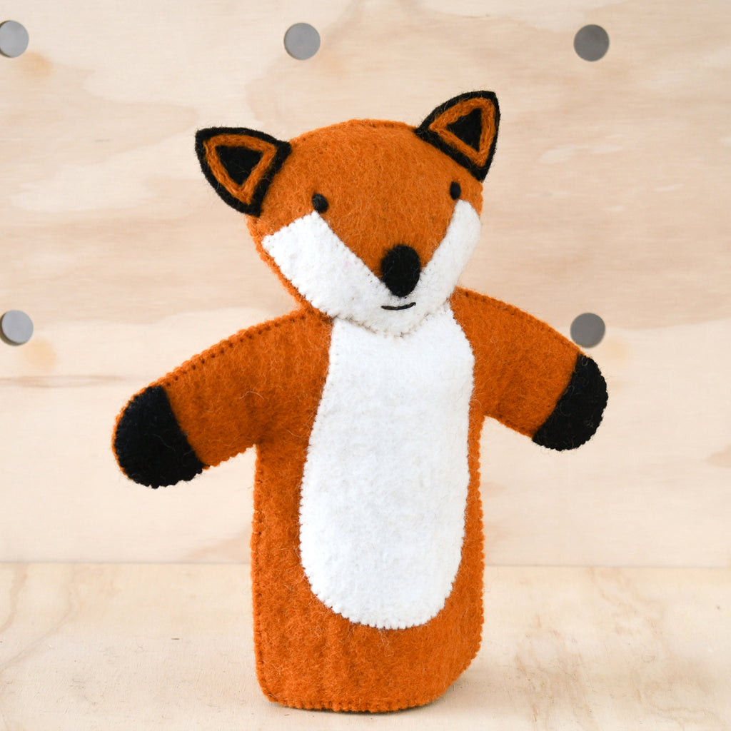 Hand Puppet - Fox - Tara Treasures
