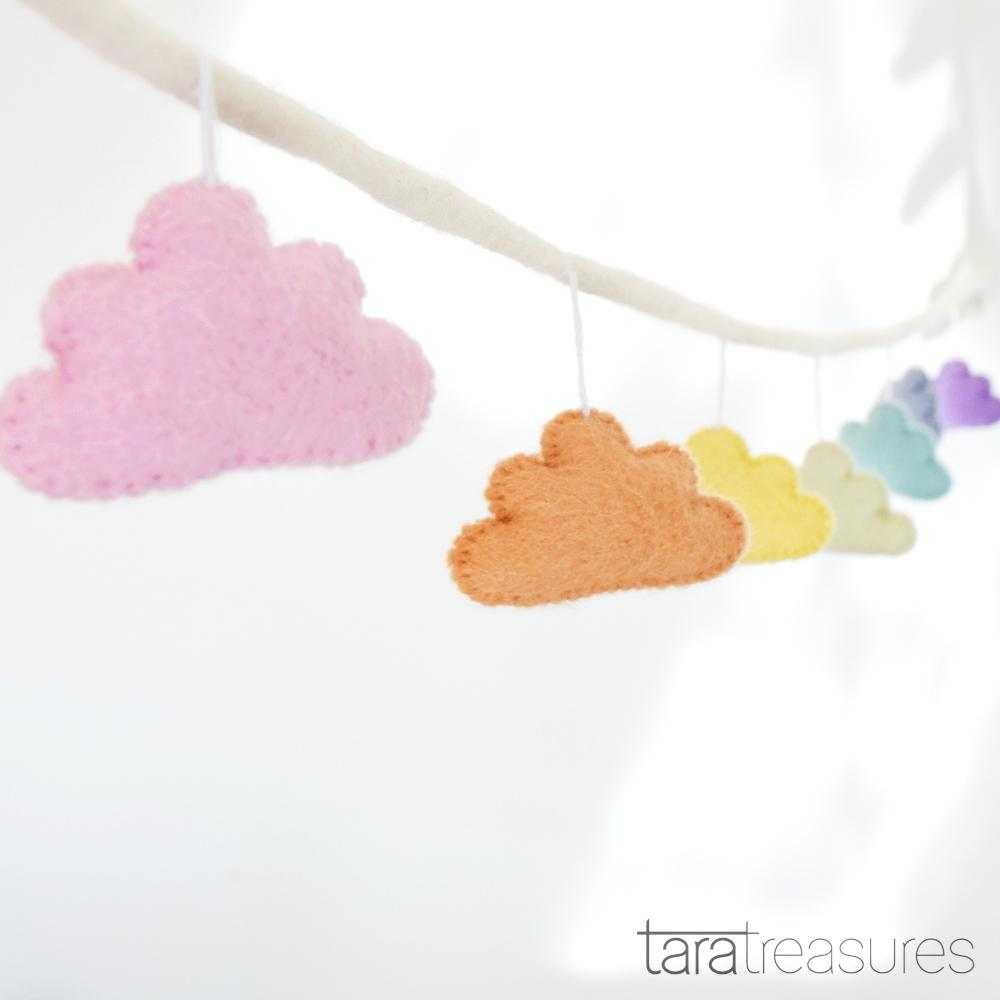 Cloud Garland - Pastel - Tara Treasures