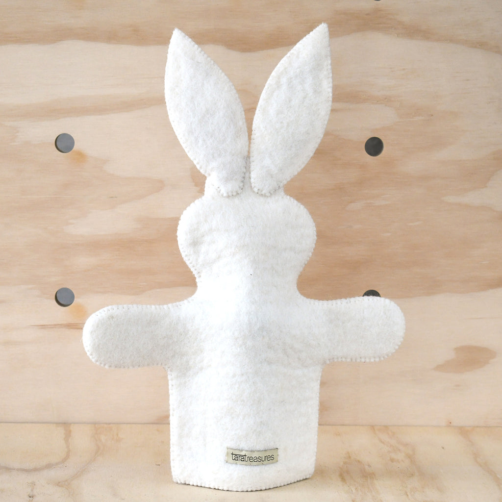 Hand Puppet - Rabbit - Tara Treasures