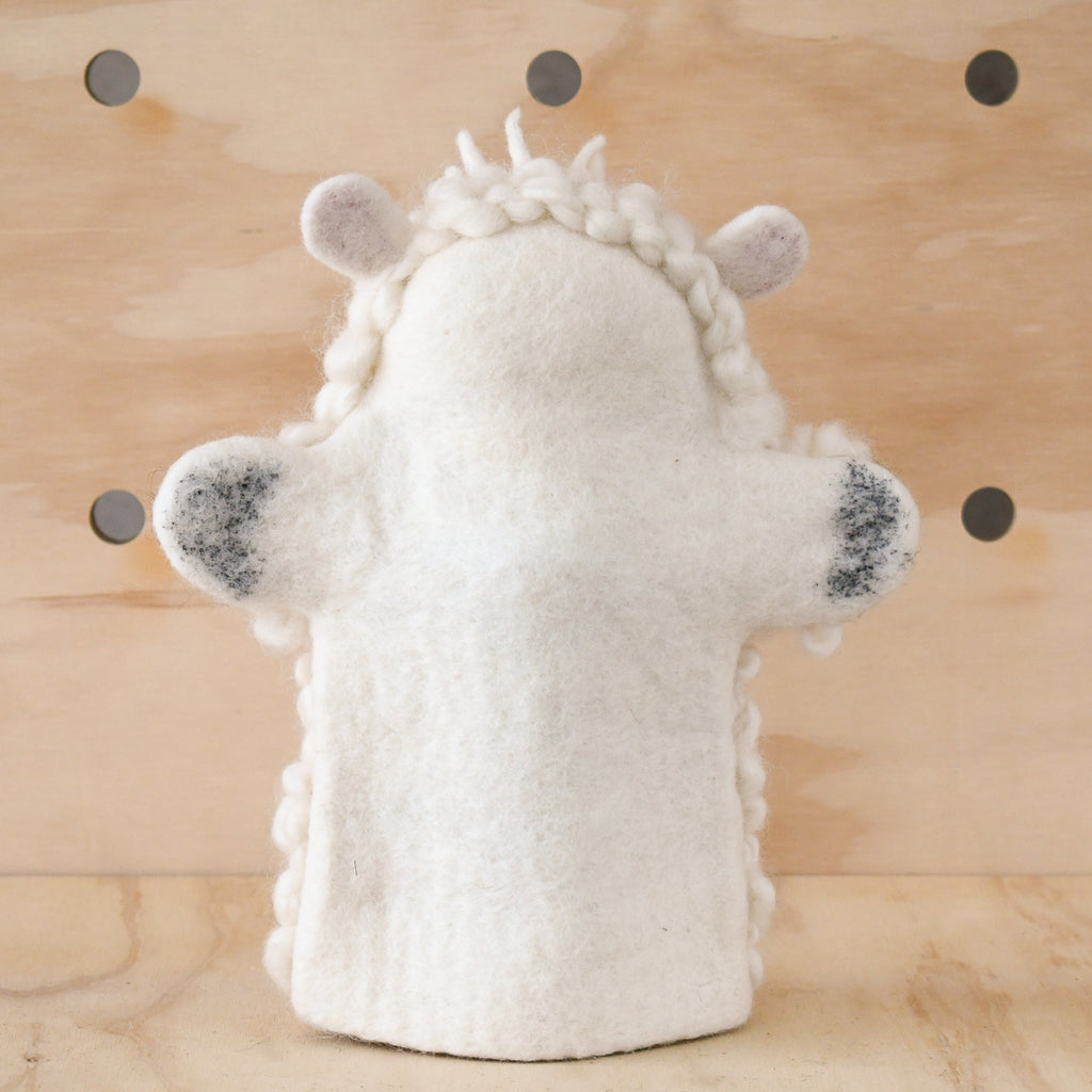 Hand Puppet - Sheep - Tara Treasures