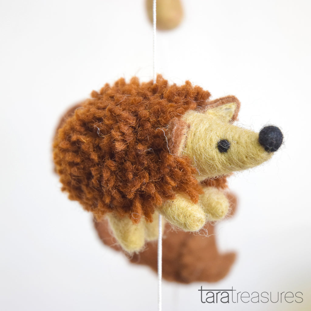 Nursery Cot Mobile - Woodland Animals - Tara Treasures