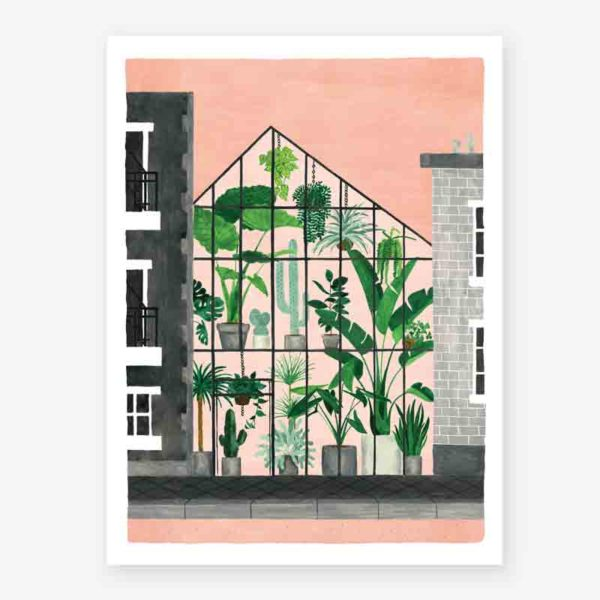 Affiche Greenhouse 30x40 - All the ways to say - Coeur Grenadine