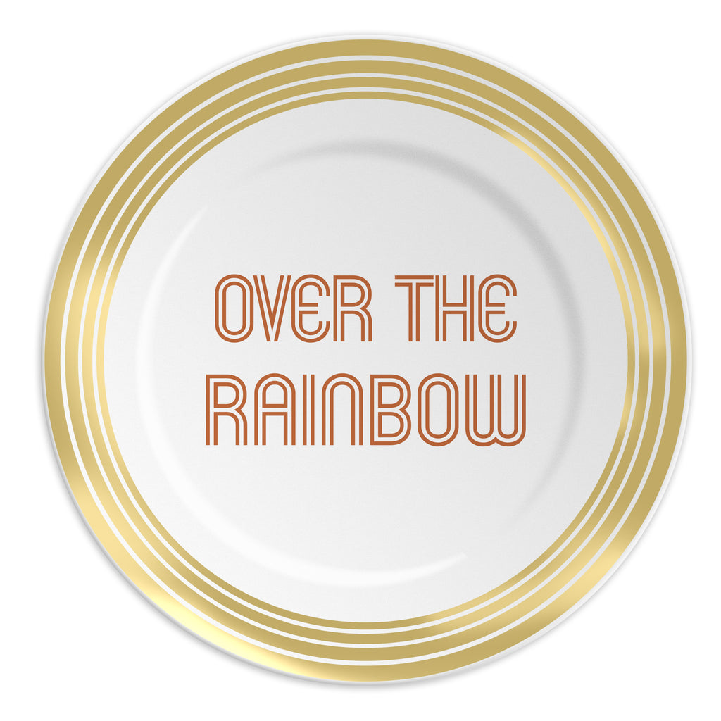 Assiette Over the Rainbow - Ilaria - Coeur Grenadine