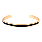 Jonc Bangle Noir - bangle-up - Coeur Grenadine