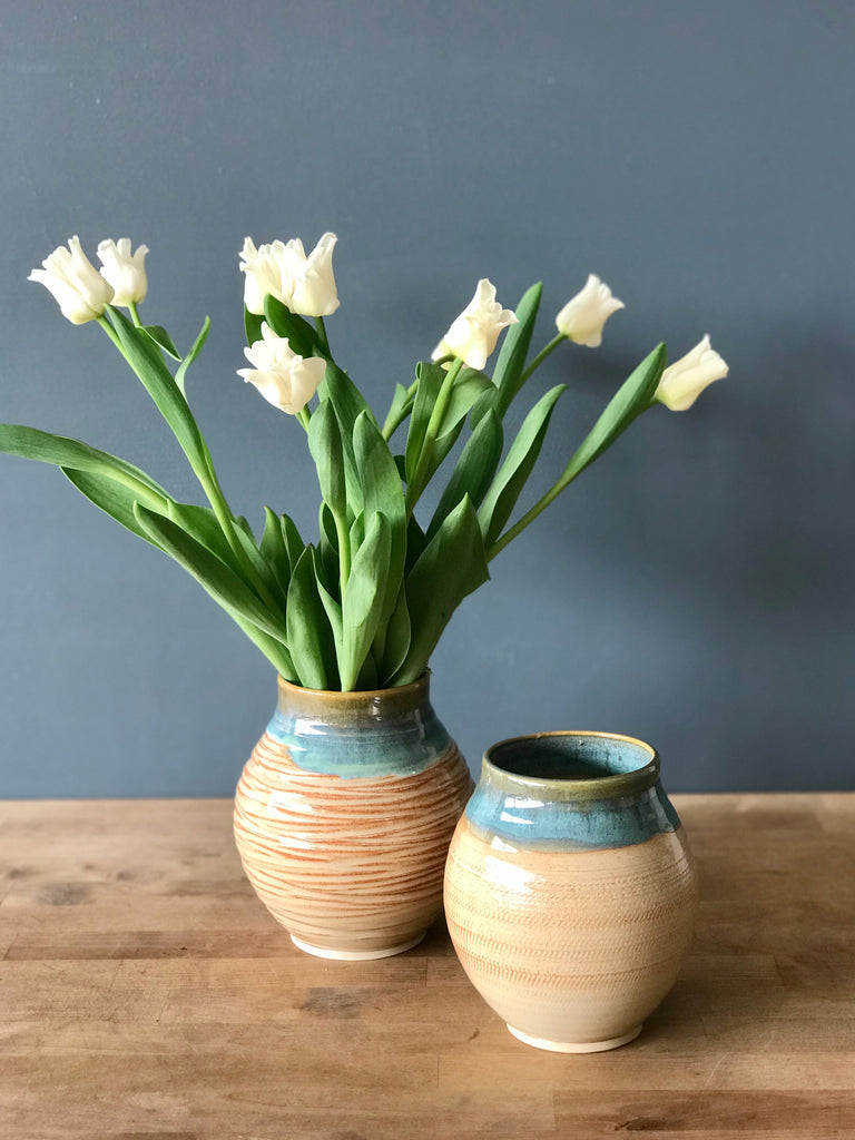 Pottery Vase - Made by Terrapin Pottery