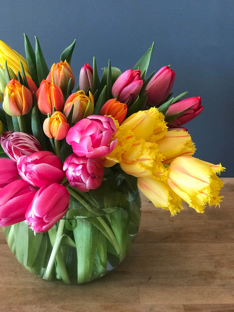 Large Contemporary Tulip Arrangement