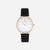 White Agate Champagne Black - White Agate : Soothing  : 38mm