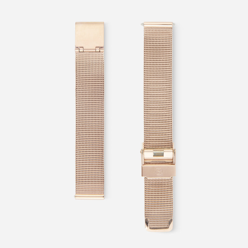 Champagne Gold Chain Strap 33 - Mesh 33mm