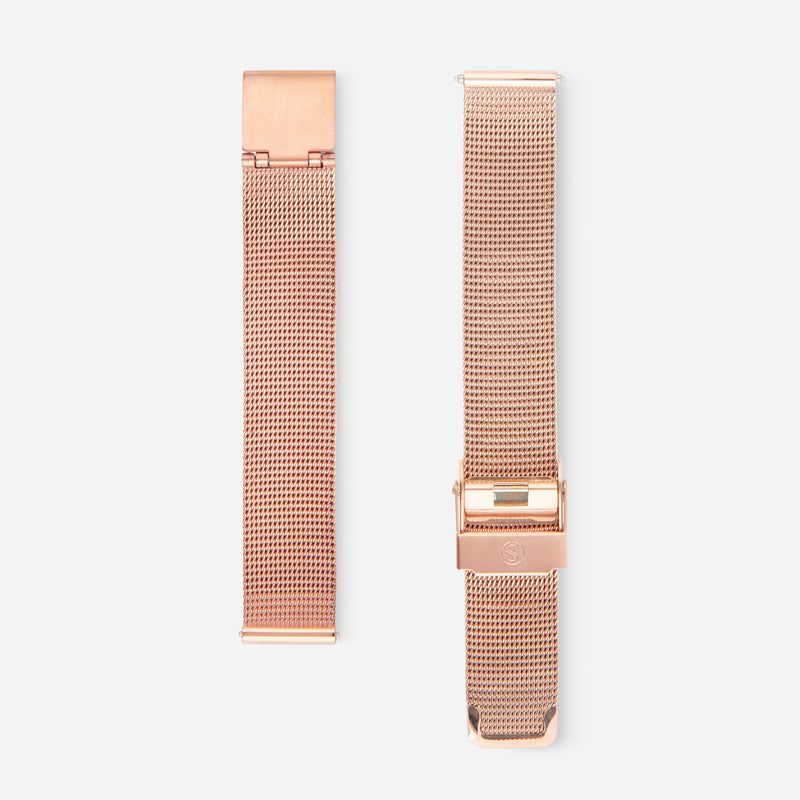Rose Gold Chain Strap 33 - Mesh 33mm