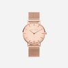 The Rose : Rose Gold Chain 38mm - Rose Quartz : Love