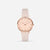 The Rose : Rose Gold Soft Pink 33mm - Pink Quartz : Love