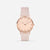 The Rose : Rose Gold Soft Pink 38mm - Pink Quartz : Love