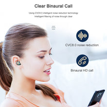 Load image into Gallery viewer, Wireless Bluetooth Surround Stereo Earphones w/Mic