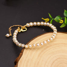 Load image into Gallery viewer, Natural Fresh Water Pearl Bracelet For Women
