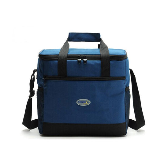 Folding Waterproof Nylon Lunch Cooler Bag