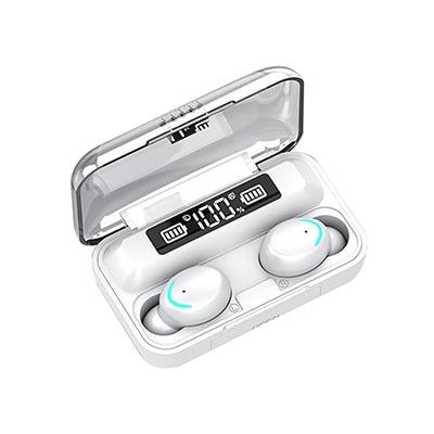 Wireless Bluetooth Surround Stereo Earphones w/Mic