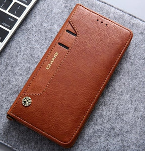 Flip Wallet PU Case/Cover for Huawei P20 Phones