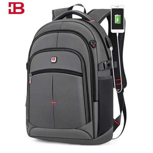 Anti-theft USB Laptop Backpack for College or Travel