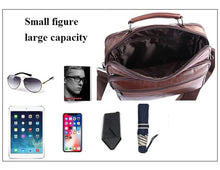 Load image into Gallery viewer, Luxury Genuine Leather Quality Messenger Bag