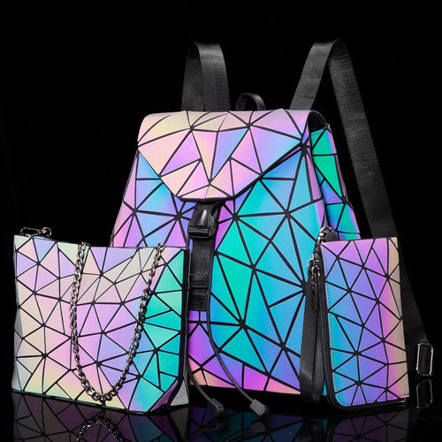 Foldable Luminous Crossbody Bags For Women