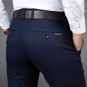 Casual Straight Pocket Pants For Men