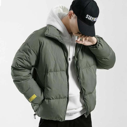 Canada Style Standing Collar Winter Jacket For Men