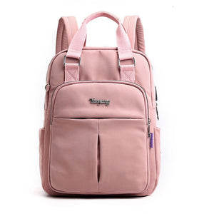 Girls USB Charging Backpack For School