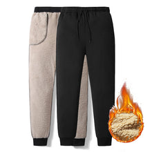 Load image into Gallery viewer, Thick Velvet Padded Winter Sweatpants For Men