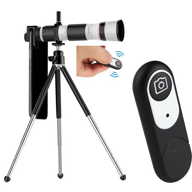 4K HD 16-35X Telescope Camera Zoom Lens for Smartphones