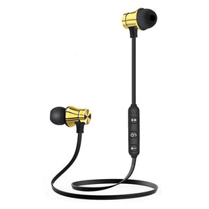 Wireless Bluetooth 4.2 HiFi Stereo Earphones w/Mic
