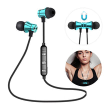 Load image into Gallery viewer, Wireless Bluetooth 4.2 HiFi Stereo Earphones w/Mic