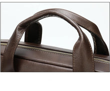 Load image into Gallery viewer, Top-layer Genuine Leather Laptop Bag Briefcase