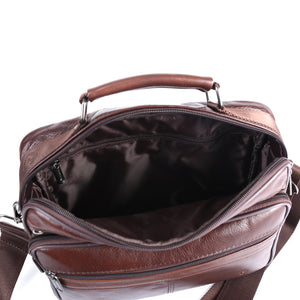 Luxury Genuine Leather Quality Messenger Bag
