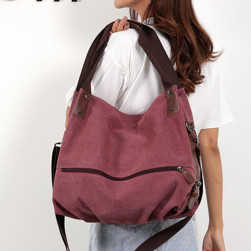 Large Capacity Canvas Tote Bag For Women
