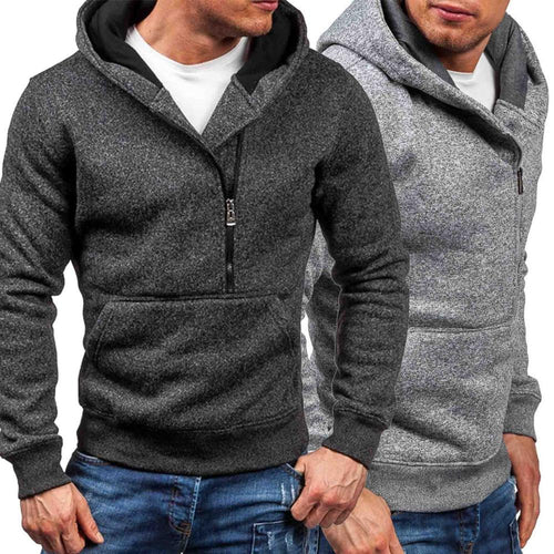 Fashion Long Sleeve Hooded Jumper For Men