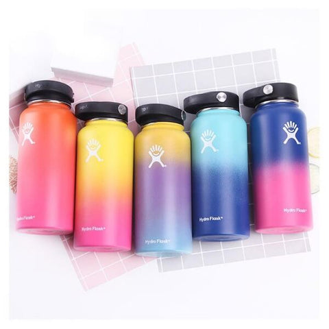 Hydro flask wide mouth bottle w/ flex cap - LaViemate