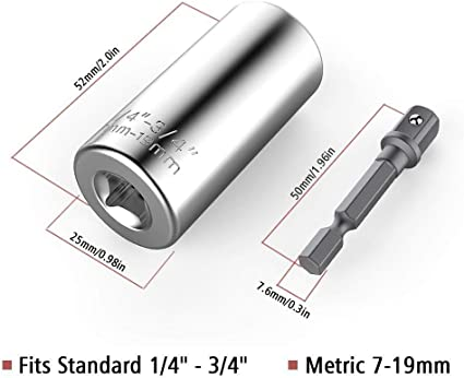 Universal socket wrench - LaViemate