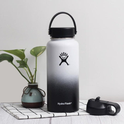 Hydro flask wide mouth bottle bundle (Flex Cap and Straw Lid) - LaViemate