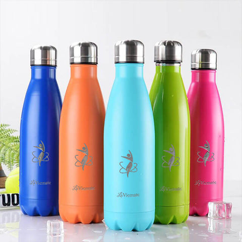 LaViemate hydro flask water bottle 17 oz - LaViemate