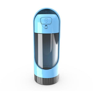 Blue Dog and Cat Water Bottle Dispenser - LaViemate
