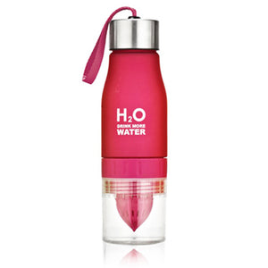 Pink Fruit Infuser Water Bottle-Laviemate