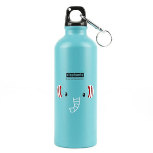 Blue Hydro flask aluminum water bottles - LaViemate