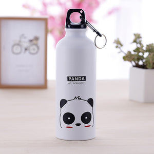 White aluminum Hydro flask water bottles - LaViemate