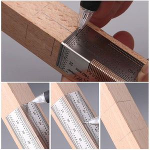 Bend rule for woodworking and carpenter - LaViemate