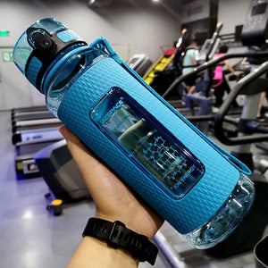 30 oz (900 ml) Blue sport water bottle - LaViemate