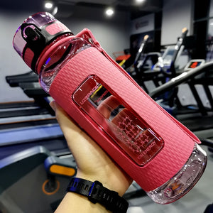 15 oz (450 ml) Pink sport water bottle - LaViemate