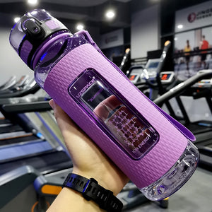 30 oz (900 ml) Purple sport water bottle - LaViemate