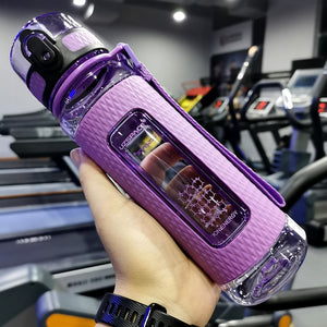24 oz (700 ml) Purple sport water bottle - LaViemate