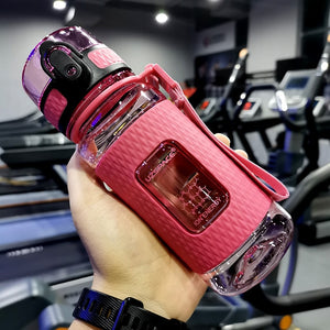 12 oz (350 ml) Pink sport water bottle - LaViemate