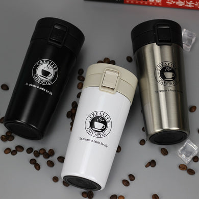 Thermos stainless steel travel mug  - LaViemate